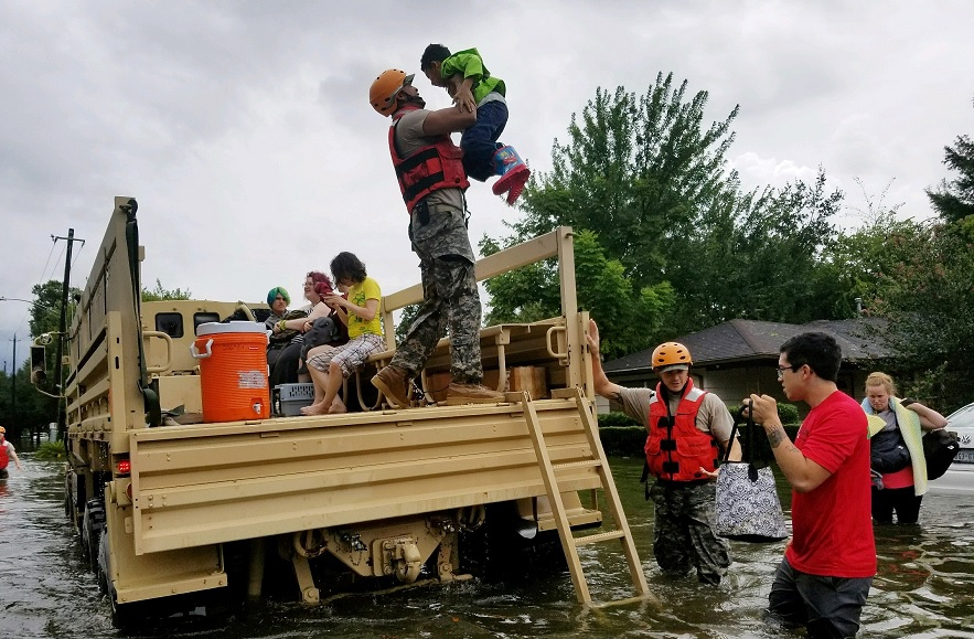 Is Hurricane Harvey a Message from Nature?