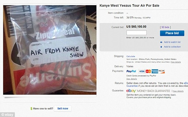 Kanye West Air Bag