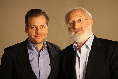 Dr. Michael Laitman and Joshua Zeman