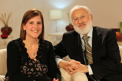 Dr. Michael Laitman and Michelle LaFountaine