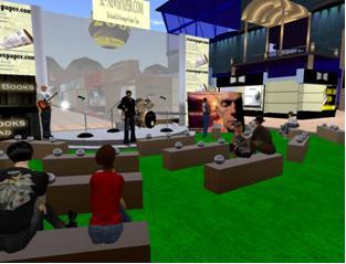 The ARI Kabbalah Center Band In Second Life