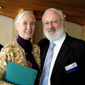 jane goodall and michael
