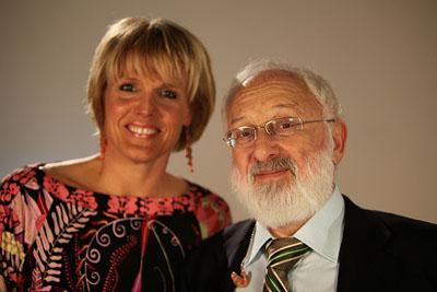 Dr. Michael Laitman and Caroline Adams Miller