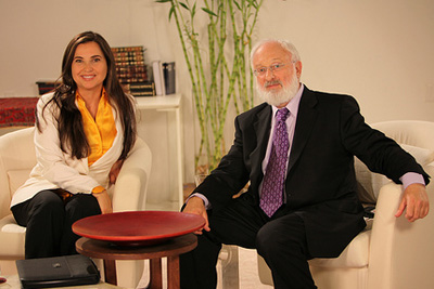 Dr. Michael Laitman and Judith Regan