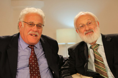 Dr. Michael Laitman and Dr. Kalman Kaplan