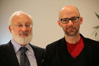 Dr. Michael Laitman and Moby