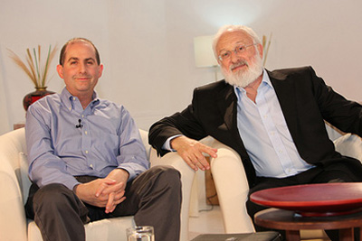 Dr. Michael Laitman and Steve Rubel